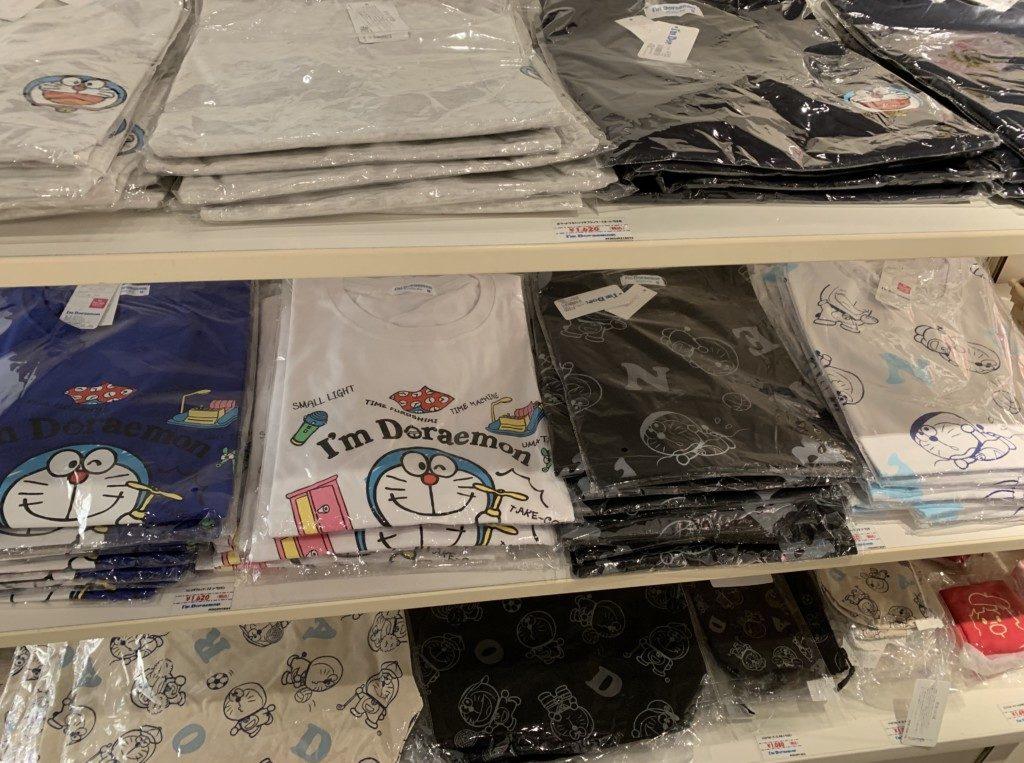 福岡パルコドラえもんポップアップストアTシャツの画像