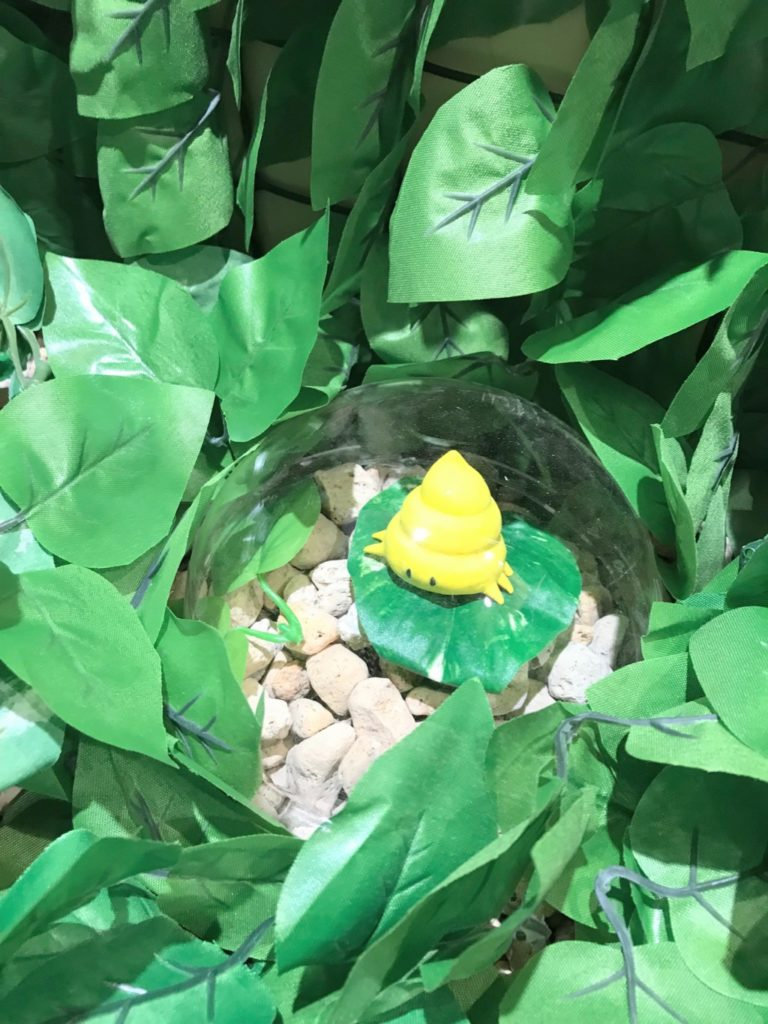うんこ展示会のうんこムシの画像