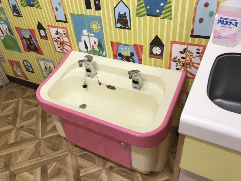 メガドンキ福重の小さな子供の洗面台画像