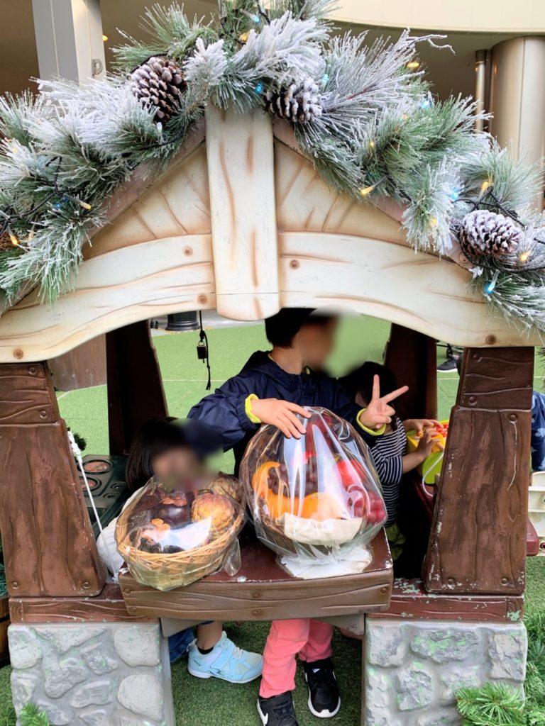 木の葉モール橋本のイルミネーション遊具のお店やさんの画像
