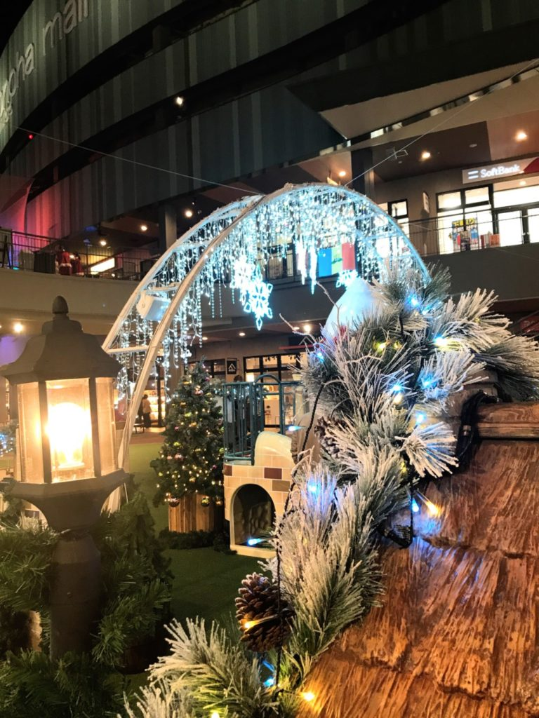 木の葉モールのクリスマスイルミネーション点灯時間はいつから?画像