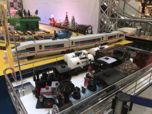福岡イオンの鉄道まつりのジオラマの画像