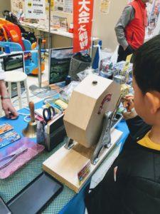 イオン福岡伊都店の鉄道まつりのガラポンの画像