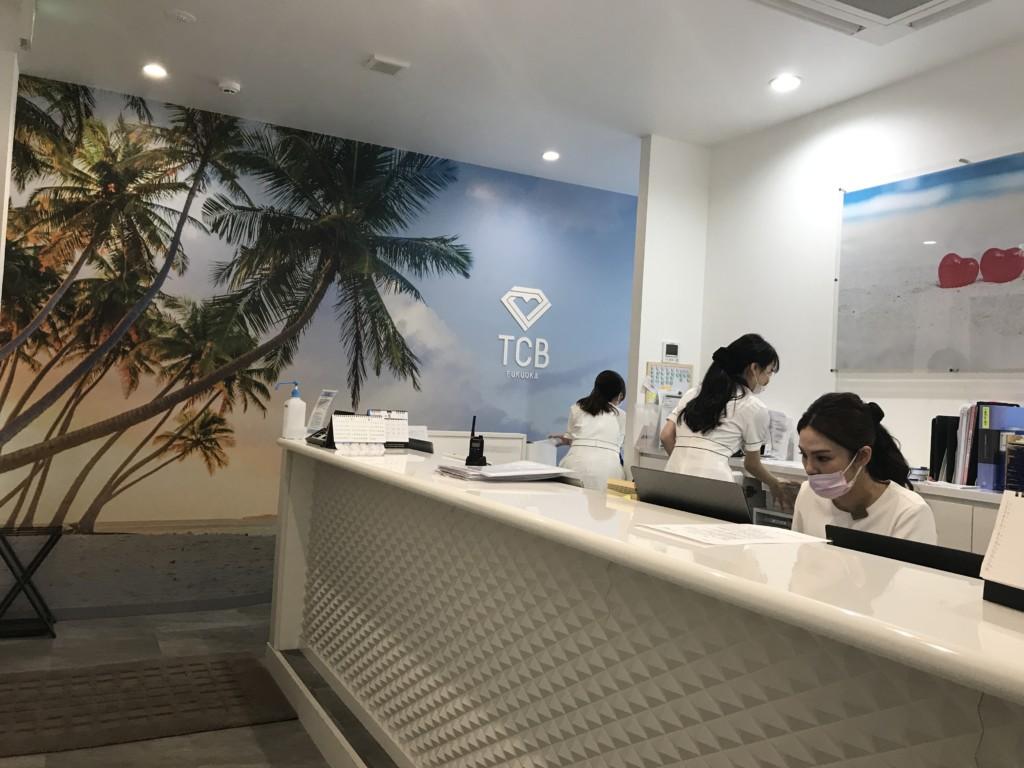 東京中央美容外科・福岡院の店内の清潔な画像