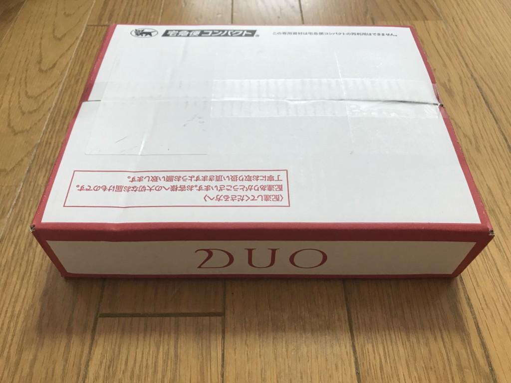 DUOクレンジングバーム(ホワイト)商品が届いた画像