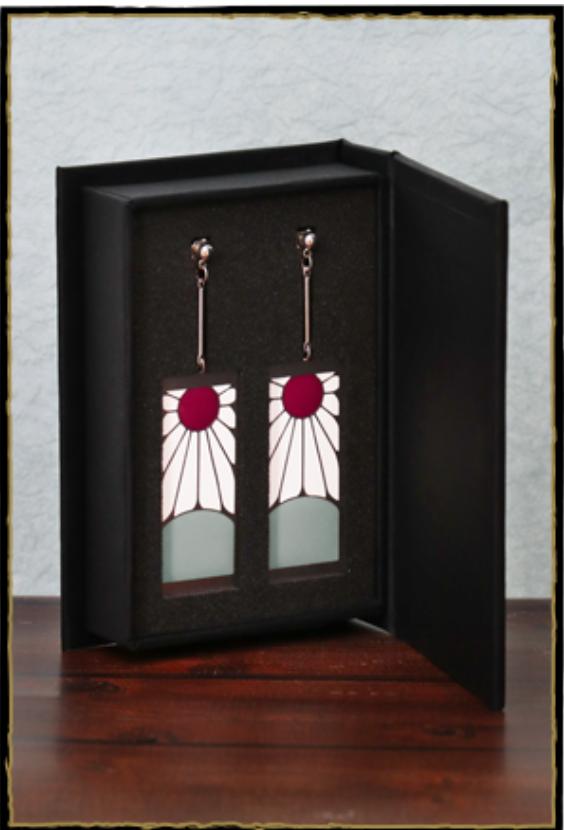 鬼滅の刃の炭治郎の耳飾り其の2の高級な箱画像