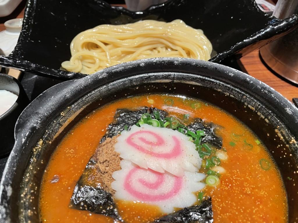 博多めんたい重でつけ麺を食べた感想口コミ画像