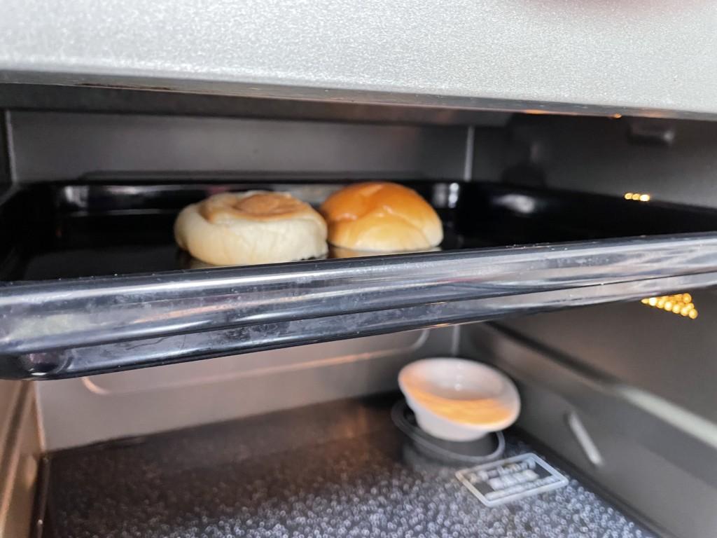 【シューイチ】みかんのピーナツバターサンドでパンをトースターで焼いた画像