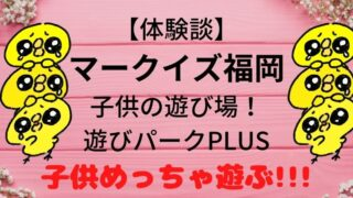【体験談】マークイズ福岡の子供の遊び場!遊びパークPLUSの7つのコーナー紹介画像
