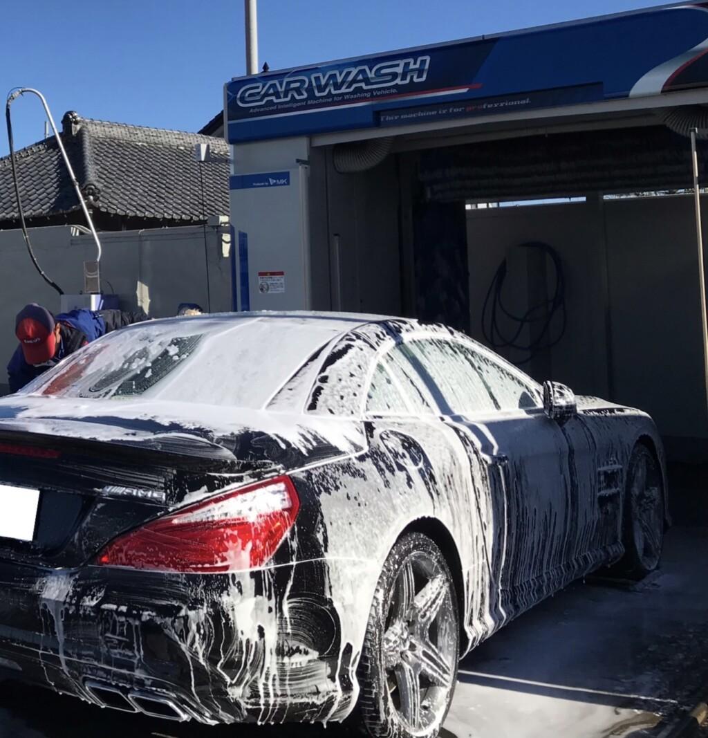 洗車の画像